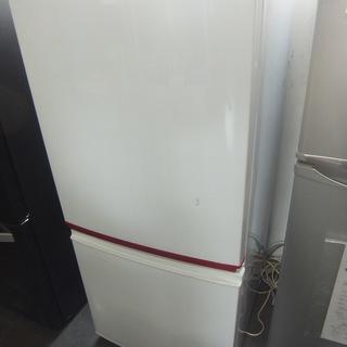 2014年 2ドア冷蔵庫 SHARP SJ-BK14Y-W つけ...