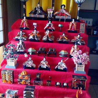 ひな人形七段飾り(久月)