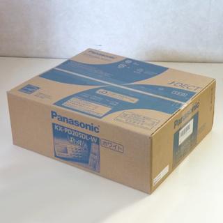 新品 パナソニック おたっくす KX-PD205DL-W デジタ...