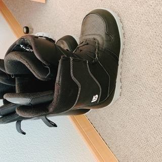 スノーボード 板と靴  HEAD
