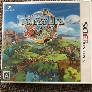 任天堂 3DS   FANTASY  LIFE