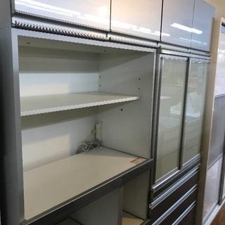 ワイド180cmの大型食器棚 【エスエークラフト】