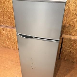 SHARP 2016年 118L 2ドア 冷凍冷蔵庫 SJ-H12Y