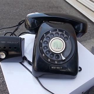 インテリア 黒電話