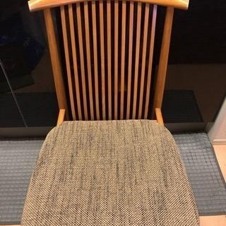 【値下げしました】飛騨産業 キツツキマーク椅子