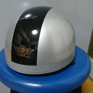 半ヘルメット(グレー×黒)