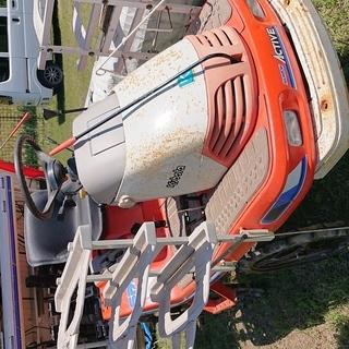 クボタ 5条植え 田植機 スターターでエンジン良好です。
