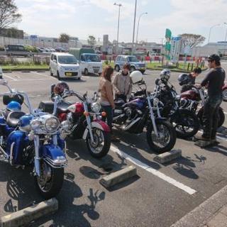 アメリカンバイクのツーリング仲間を募集しています😄