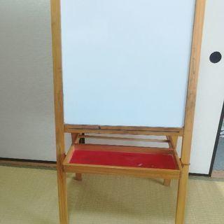 【商談中です】IKEA MALA  木製お絵かき用イーゼル ホワ...