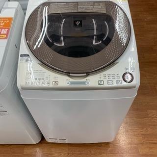 半年間動作保証!!SHARP 縦型洗濯乾燥機