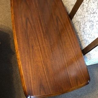 カリモク製、センターテーブル