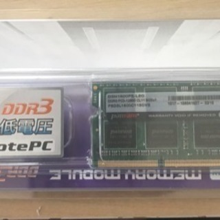 CFD SO-DIMM 204pin DDR3 1.35V 低電...