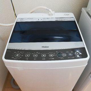 洗濯機Haier JW-C55A-K (ブラック, 5.5…