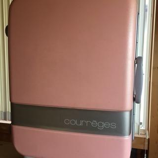 【売り切り】今週末で処分!格安courregesスーツケース機内...