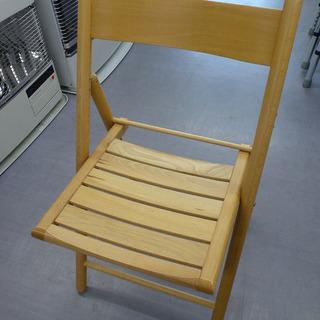 手稲リサイクル 良品計画 折りたたみチェア  ブナ材 木製椅子 ...