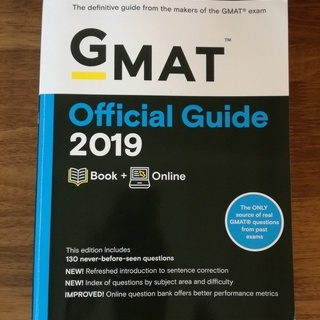 GMAT Official Guide 2019: Book +...