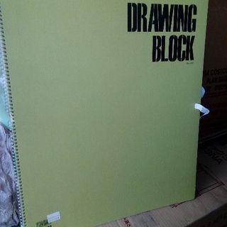 新品 DRAWING BLOCK  2冊セット