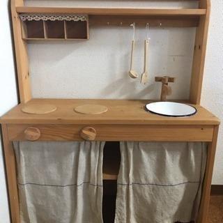 木製キッチンセット
