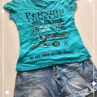 Lサイズ♡オシャレなロゴTシャツ