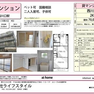 貸マンション レジデンス西川口 402号室 賃料 70,000円...