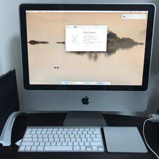 i Mac 20inch Mid 2007 キーボード、トラック...