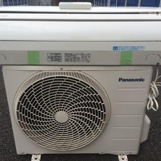 取付料金込み パナソニック6-8畳用 ルームエアコン 2012年