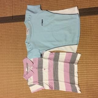 130、KaepaTシャツ、小さめ140 ポロシャツ  2点セット