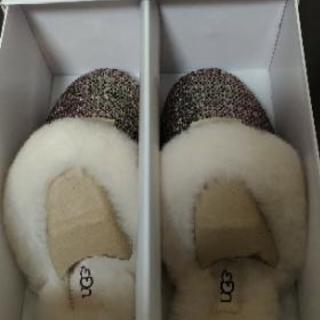 UGG サンダル ピンク 23、未使用 限定品 - 靴/バッグ