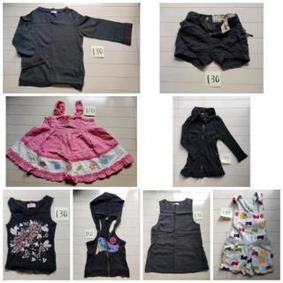 子ども服まとめ売り(130くらい)8点