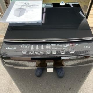 洗濯機 Hisense 5.5kg洗い 1人暮らし 単身用 20...