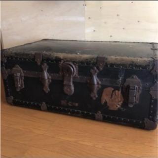 ヴィンテージ トランク テーブル 宝箱 インテリア