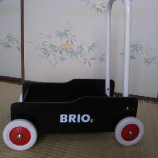 再値下げしました・BRIO・手押し車・歩行練習・ベビーカー・