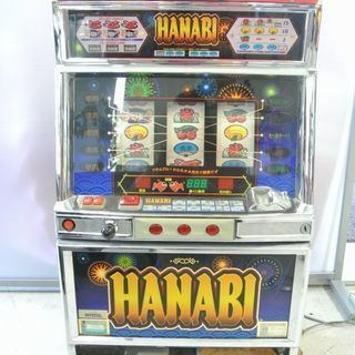 スロット台 HANABI ハナビ 4号機 / ユニバーサル 通電...