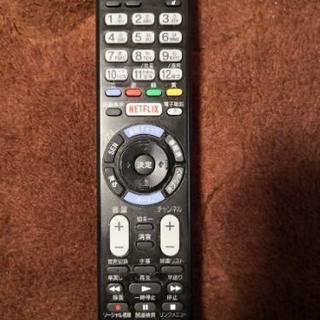 SONY  テレビリモコン RMT -TX102J
