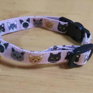 猫用シンプル首輪作ります(^^)