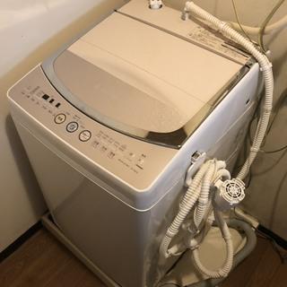 即決 洗濯機 乾燥機 8k 大家族 ホース付 中川区 直接引き取り...