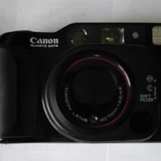キャノンの望遠付き一眼レフ、フィルムカメラ(ペンタックス)
