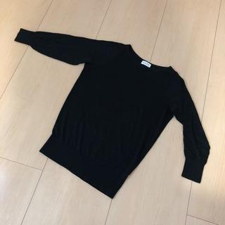 ST  プラステ ブラックセーター