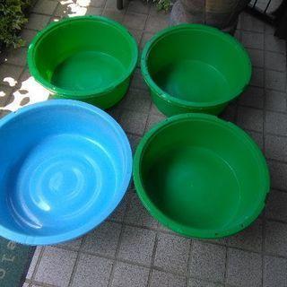 中古漬物樽(平型)