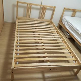 IKEAベットフレーム、セミダブル