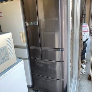 6ドア大型冷蔵庫565L★MR-E57S 光エア除菌 ★切れちゃ...