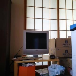 ソニー20インチアナログ液晶テレビ