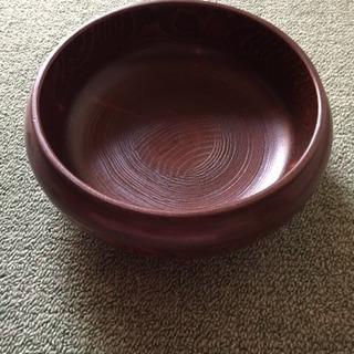 未使用品 木製 鉢