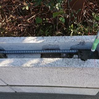♦ブロック塀の設置・取り壊し・廃棄・塗装します。
