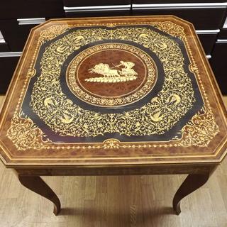 ゲームテーブル イタリア製 ルーレット チェス バックギャモン ...