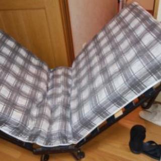 未使用折りたたみベッド シングル