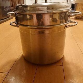 大きいパスタ鍋
