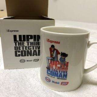 未使用品!ルパン&コナンマグカップ