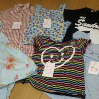 夏100センチ女の子服