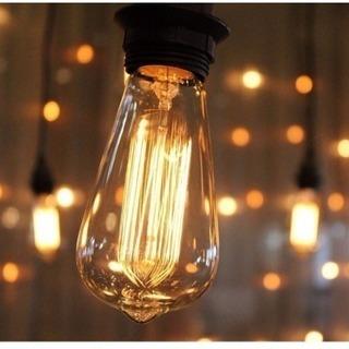 新品 エジソンバルブ 電球 60W E26 110V 2個セット